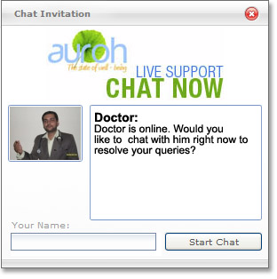 live chat with our homeopathy doctors right now